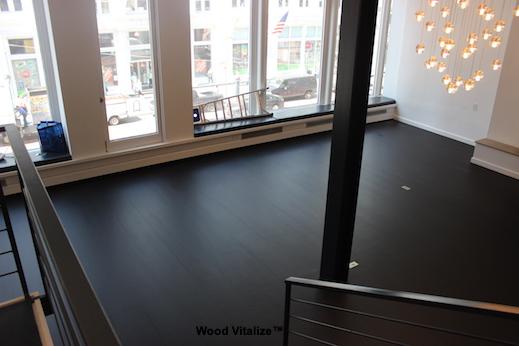 Loft Space Hardwood Floor Refinshing