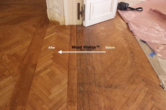 Historic Hardwood Floor Refinishing