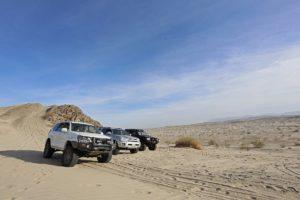 desert group shot day