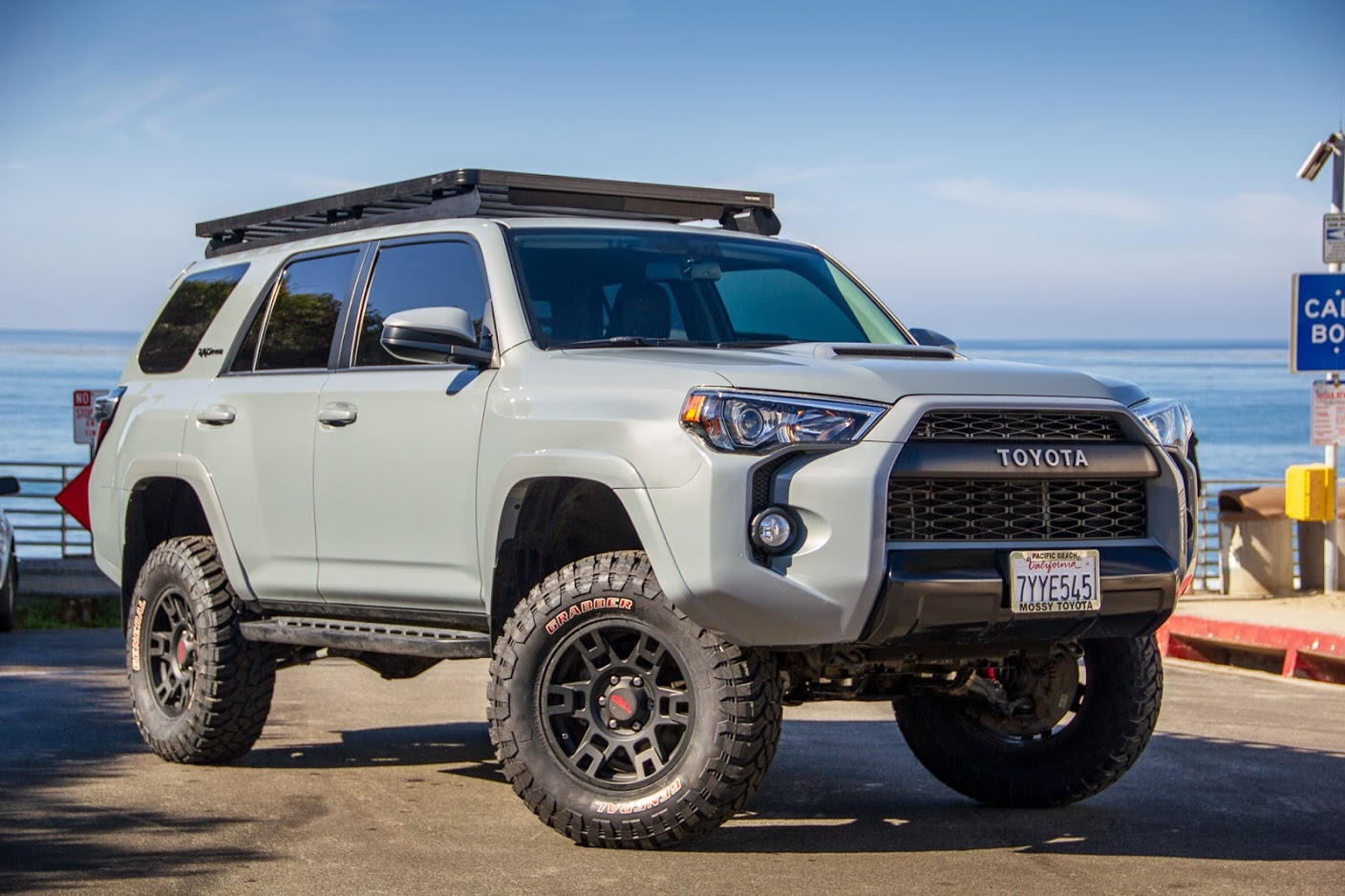Getting With The Times Our New 2017 Trd Pro 4runner Outworld