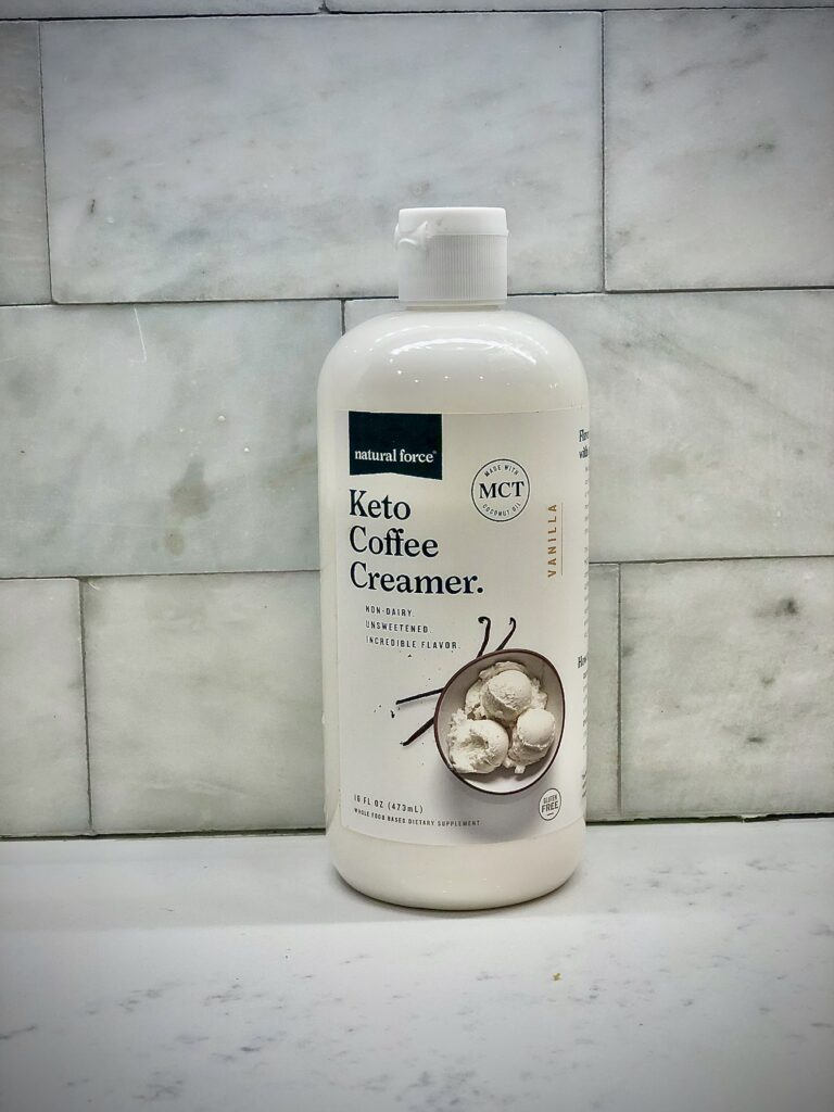organic keto coffee creamer natural force