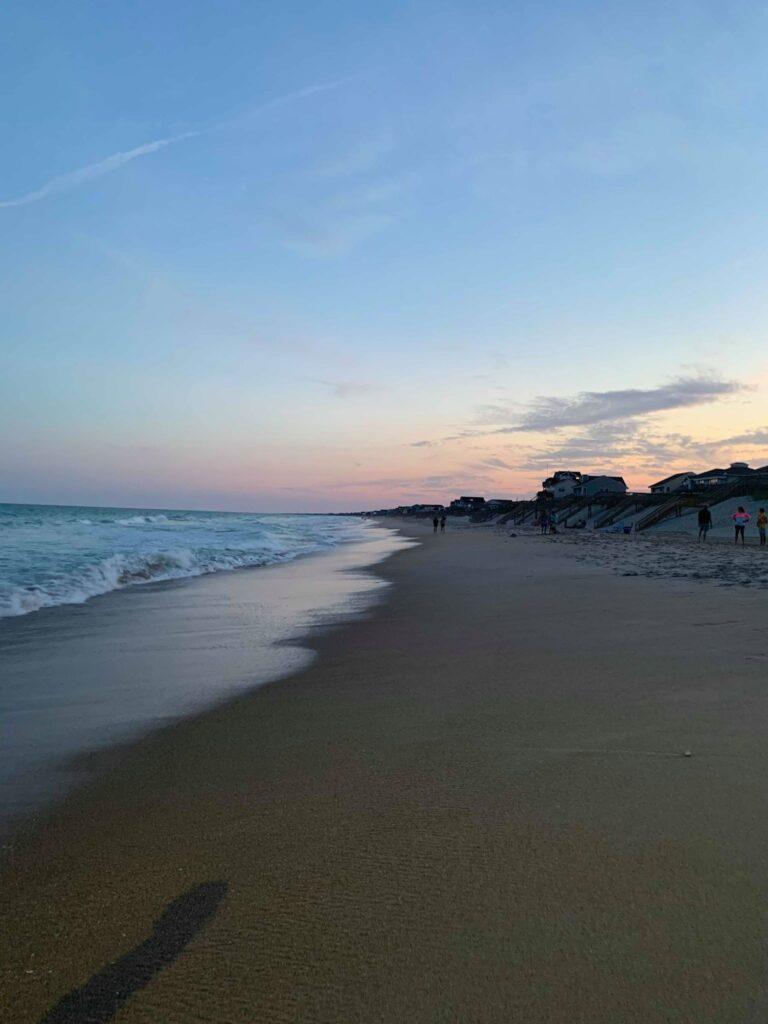 Sunset at Surf City