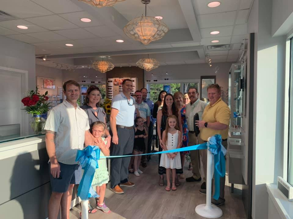 Hampstead Optometry Ribbon Cutting (3)