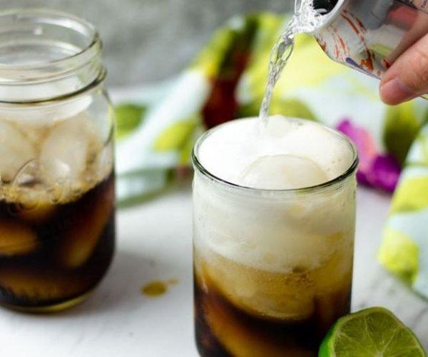 Cold brew coco, preparación