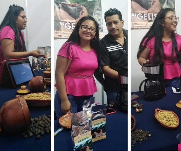 Lourdes García, proveedora chiapaneca de café