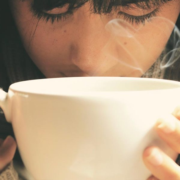 Aromas agradables del caféº