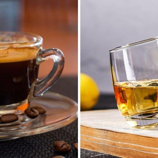 Cómo combinar licor y café.