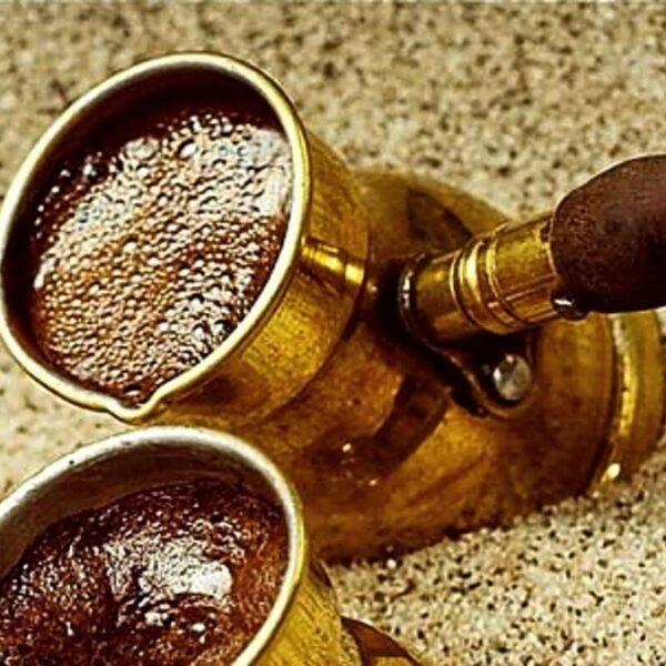 Cómo hacer café turco.