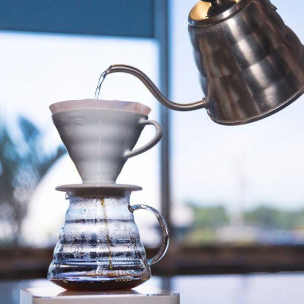 V60 Café. Métodos de goteo.