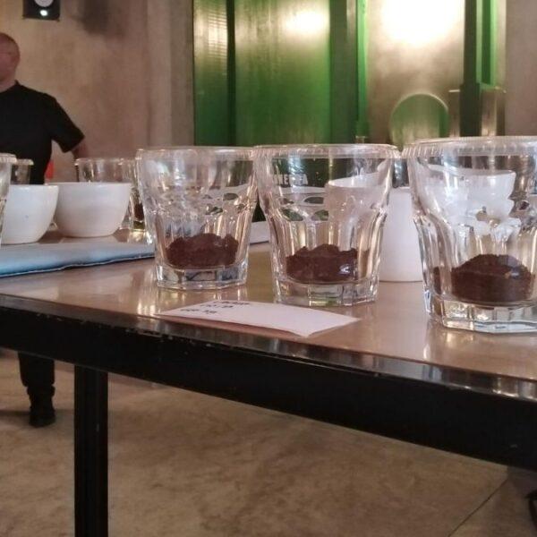 Catación de café. Medidas de seguridad COVID-19.