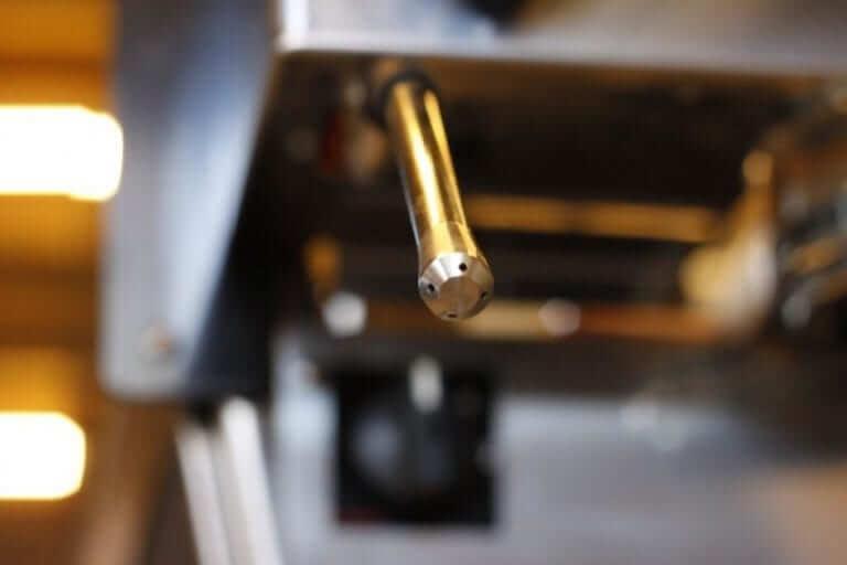 Lanceta de vapor máquina de espresso