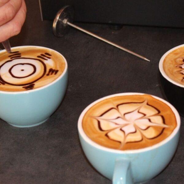 Etching. Arte latte
