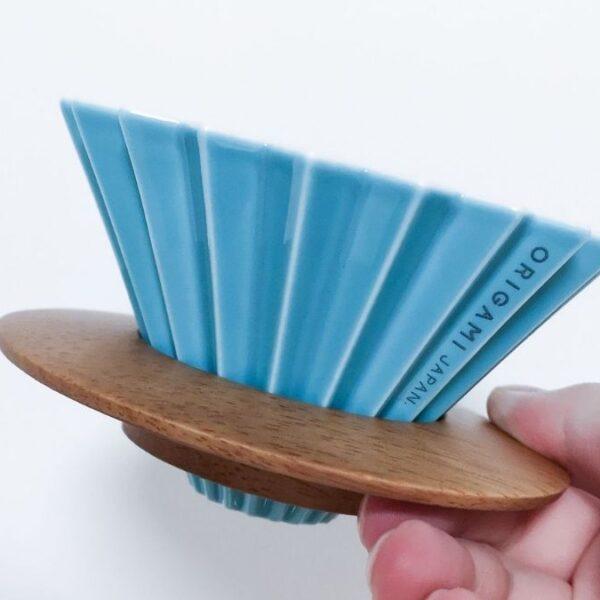 Origami, método de vertido.