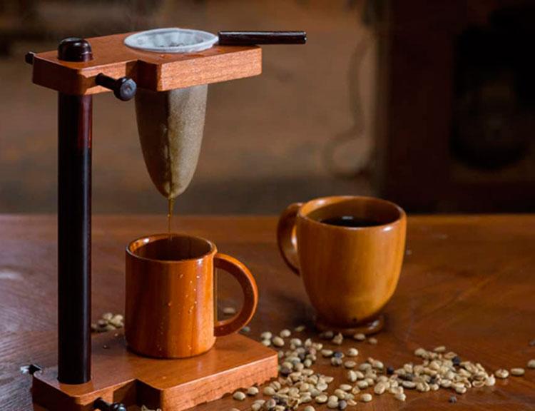 Chorreador para café