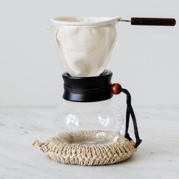 Filtros de tela para café