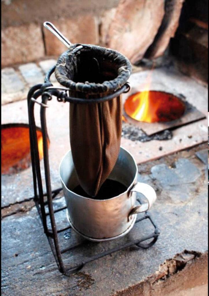 Talega para café
