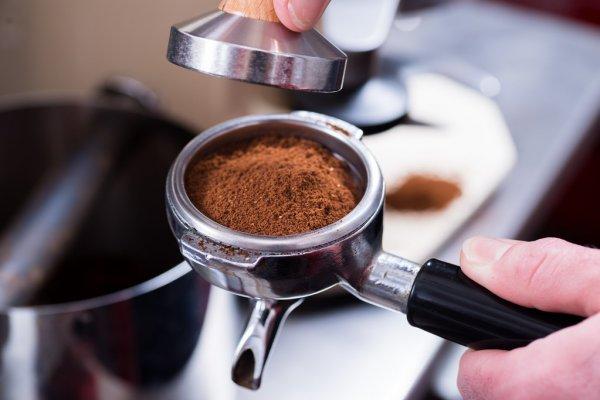 Apisonado del café