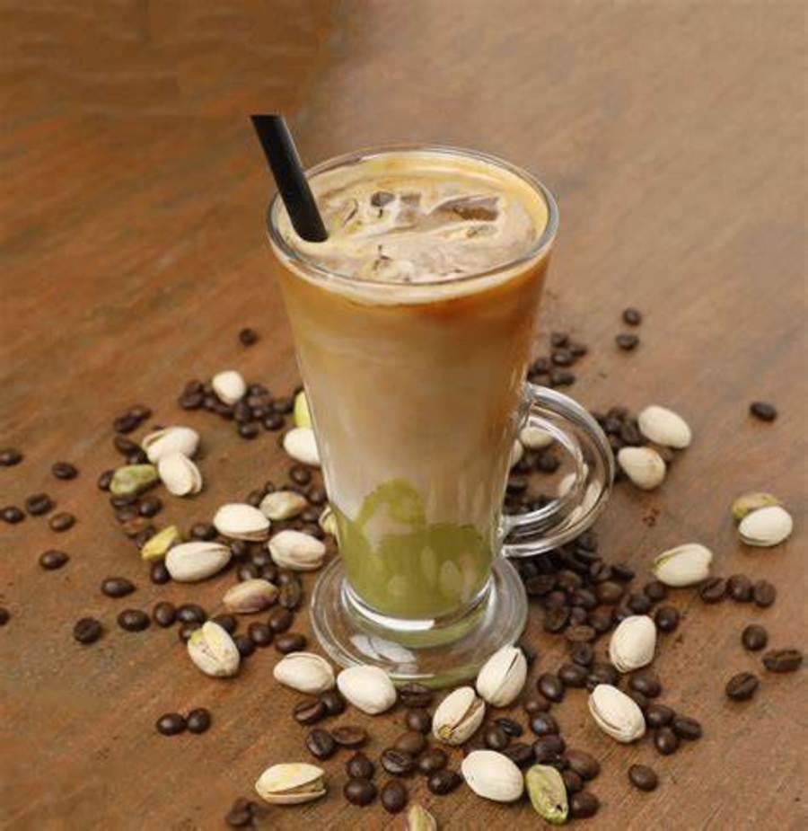 Café y pistache