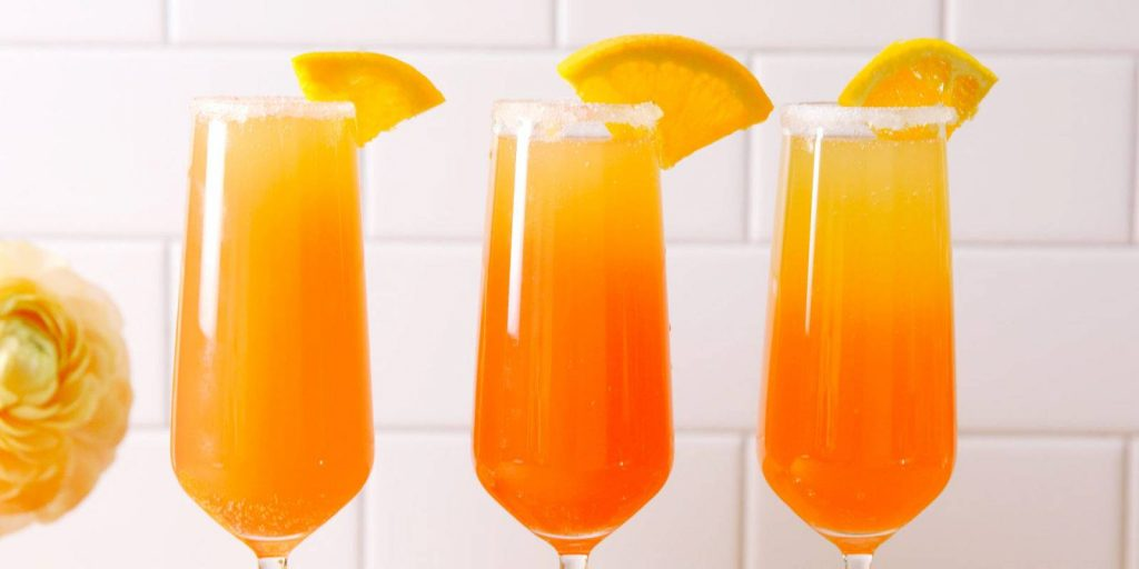 Cold Brew Mimosa