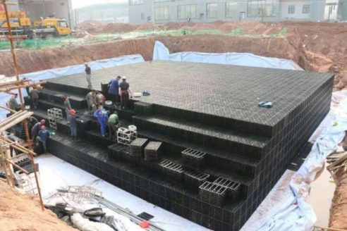 Rainwater Harvesting System Airport Project