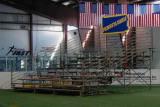 indoor bleacher unit for 120 seats