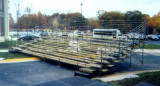 outdoor-bleacher unit for 240 seats