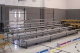 indoor small-bleacher unit for 60 seats