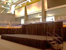 Custom Stage at Coppin State University
