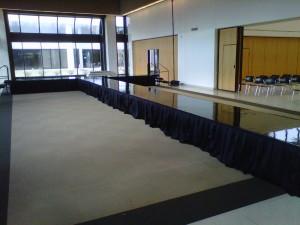 Black Mirror Runway and Stage