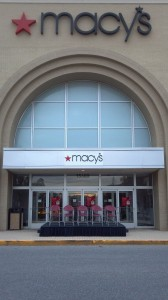 Reviewing Stand at Macy's in Bowie, Maryland