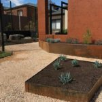 Planter boxes and garden edging