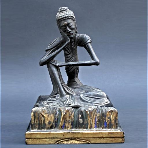 Buddha as ascetic, Japan C17
