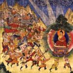 Buddha and Mara's armies