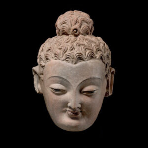 Gandhara Buddha 600px (head)