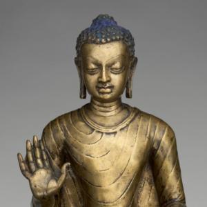 Buddha offering protection, Metropolitan Musem of Art