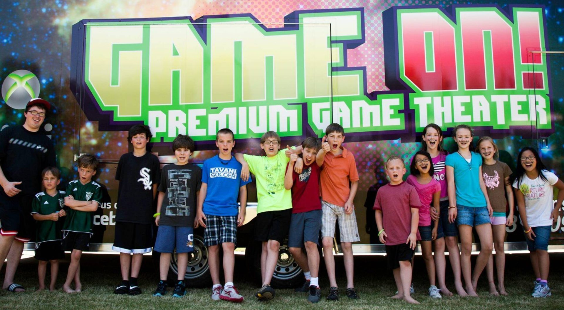 Game On! Premium Mobile Video Game Theater
