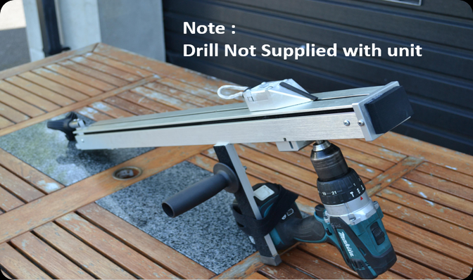 The pull starter tool does not have a drill supplied