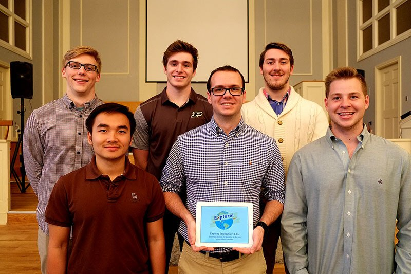 EdTech startup Explore Interactive wins Boiler Business Competition