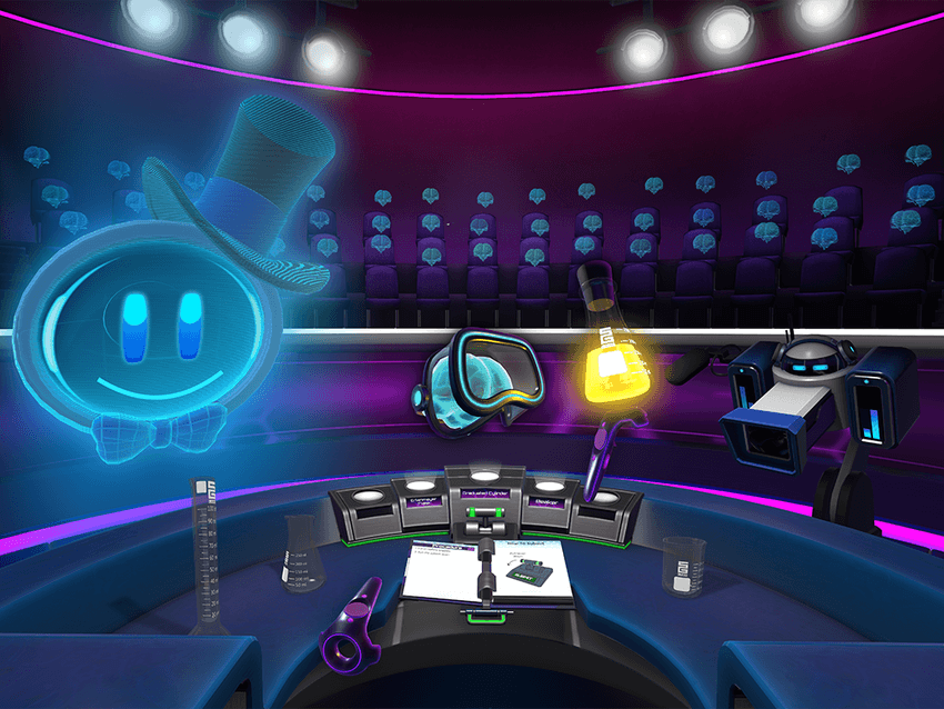 Gameplay from HoloLab Champions by Schell Games