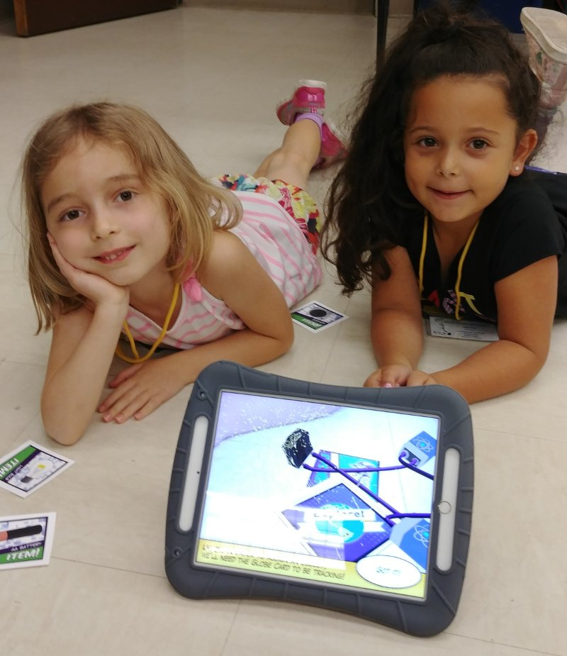Purdue GERI Kindergarten Augmented Reality Game