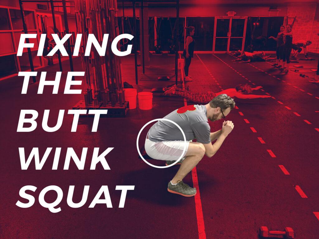 butt wink squat