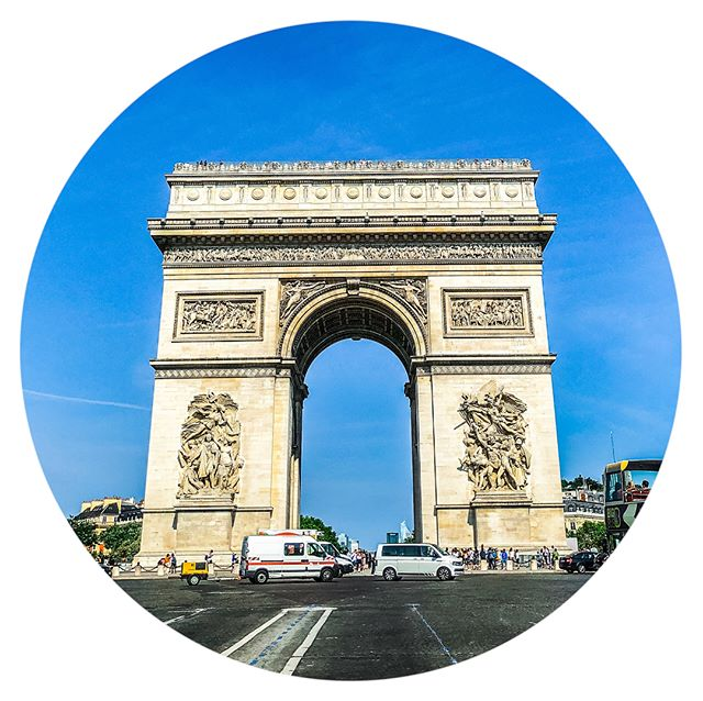 it was a beautiful, mostly calm day in Paris until 8pm when the city shut down…here, the calm before the [football] storm #stoppingtraffic | watch our live feed to see the aftermath or swipe ️ #watchwhathappensnext #paris #fifaworldcup