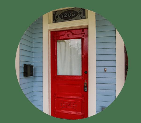 FW Heritage Red Door