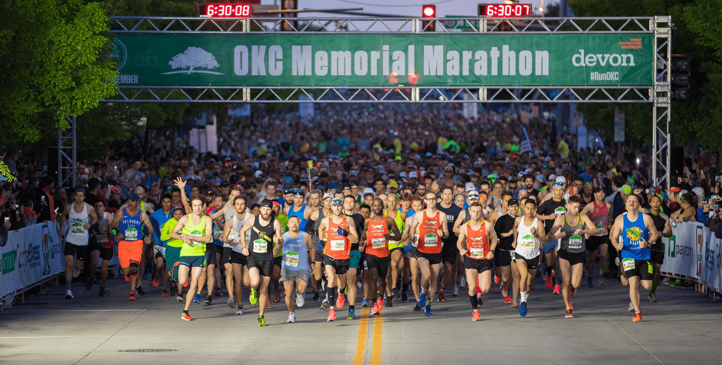 Oklahoma City Memorial Marathon – The RUN to REMEMBER