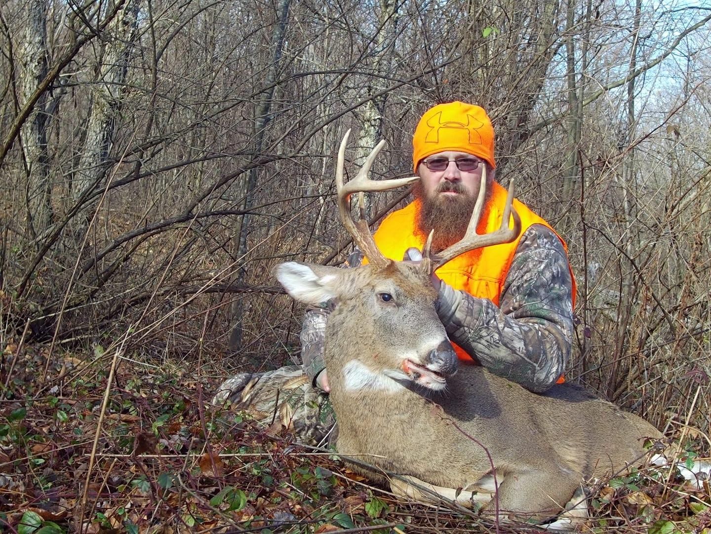 That's one big deer!