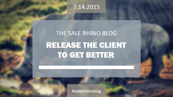 Release the Client to Get Better