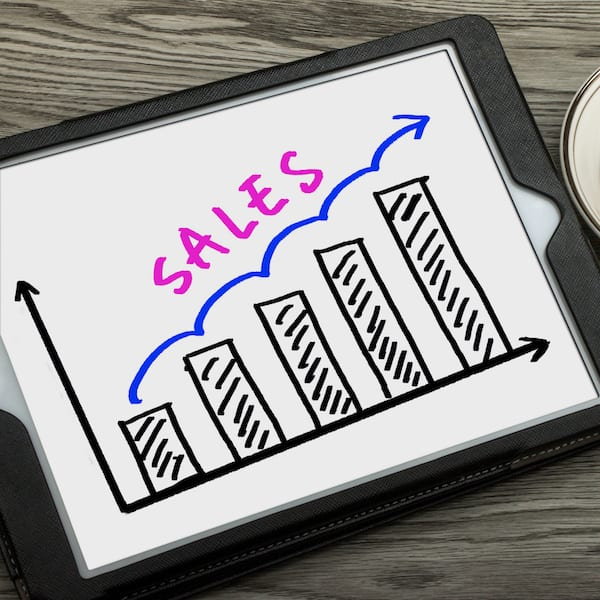 WHAT DO YOU DO WHEN THE SALES ARE GOING GREAT?