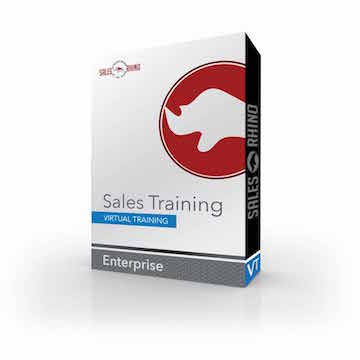 Virtual Sales Training Box Cover.