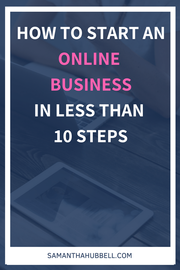 The truth is that it's not that hard to start an online business. The challenge is figuring out the process so here are 9 easy-to-follow steps to get your business up and running.