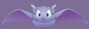 a cartoon bat